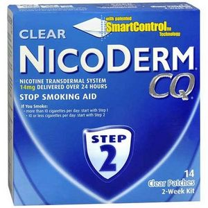 NicoDerm NicoDerm CQ Patch Smoking Cessation Step 2