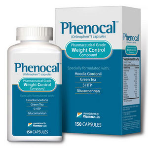 Phenocal (Orlinophen Capsules) Weight Control Compound