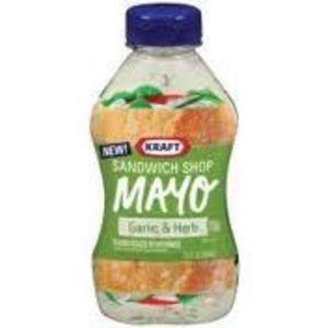 Kraft Sandwich Shop Garlic & Herb Mayo