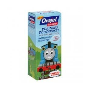 Orajel Toddler Training Toothpaste - Tooty Fruity