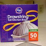 Kroger Drawstring Tall Kitchen Bags