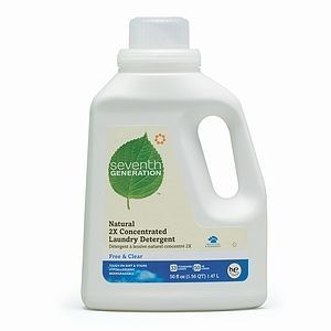 Seventh Generation Free & Clear 2X Concentrated Laundry Detergent