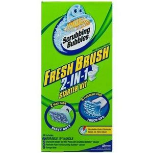 Scrubbing Bubbles Fresh Brush 2-in-1 Toilet Cleaning System