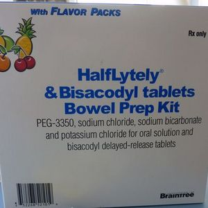 Braintree Laboratories, Inc. HalfLytely & Bisacodyl tablets Bowel Prep Kit
