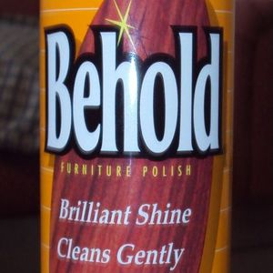 Behold Behold Furniture Polish (citrus scent)