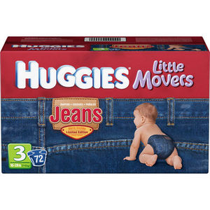 Huggies Little Movers Jeans Diapers