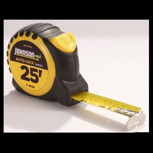 Johnson Auto-Lock Power Tape Measure, 25' - 1804-0025