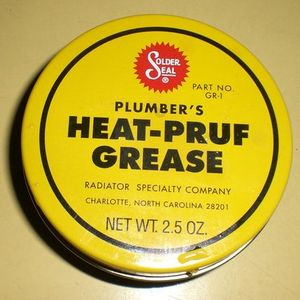 Solder Seal Plumber's Heat Pruf Grease