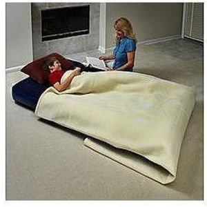 Northwest Territory Twin Flocked Airbed
