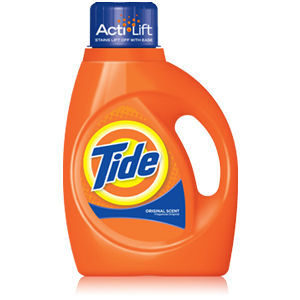 Tide with Acti-Lift Liquid Laundry Detergent, Original