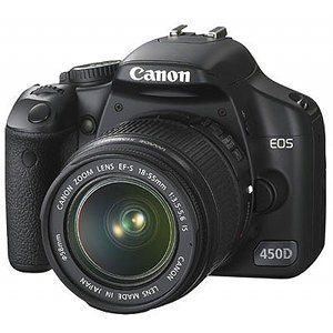 Canon EOS 450D / EOS Rebel XSi Digital Camera with 18-55mm lens