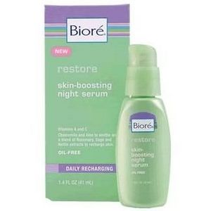 Biore Restore Skin-Boosting Night Serum