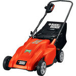 Black & Decker In. Electric Rear Bag Mulching Mower
