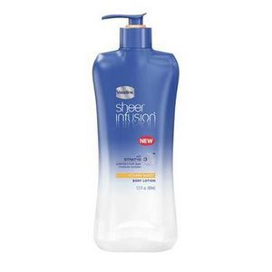 Vaseline Sheer Infusion Body Lotion, Vitamin Burst
