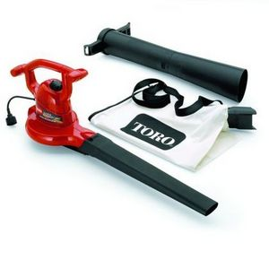 Toro Ultra Electric Leaf Blower/Vacuum w/ Metal Impeller