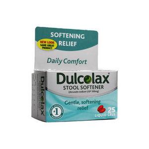 Dulcolax Stool Softener (25 Liquid Gels)