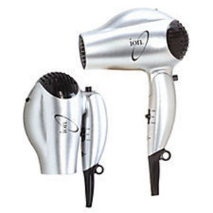Ion Dual Voltage Conditioning Ionic Tourmaline Professional Travel Dryer