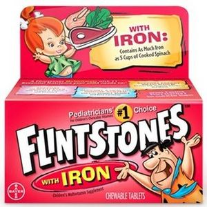 Flintstones Chewable Vitamins with Iron