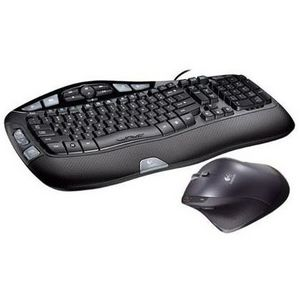 Logitech Cordless Desktop Wave Pro Keyboard and Mouse