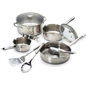 Wearever Cook & Strain Stainless Steel Cookware