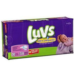 Luvs Ultra Leakguards Newborn Diapers