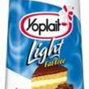 Yoplait Light Fat Free Boston Cream Pie Yogurt