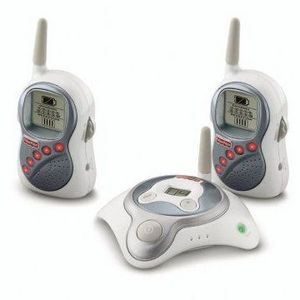 Fisher-Price Dual Private Connection Monitor with Dual Receivers, White