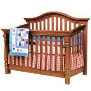 Bonavita Sheffield Crib in Tea Stain