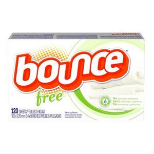 Bounce Dryer Sheets - Free (Fragrance and Dye Free)