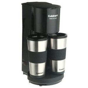 Cuisinart Two-to-Go 3.5-Cup Coffee Maker
