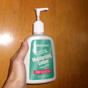 Walgreens Fragrance Free Moisturizing Lotion for Dry Sensitive Skin