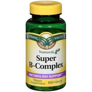 Spring Valley Natural Super B-Complex Metabolism Support