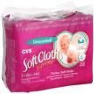CVS Unscented Soft Cloths Supreme