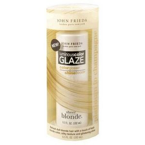 John Frieda Sheer Blonde Luminous Color Glaze, Platinum to Champagne