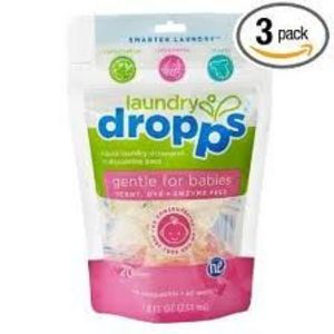 Dropps Laundry Detergent 20 Load Scent & Dye Free