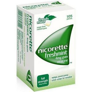 Nicorette Gum Fresh Mint
