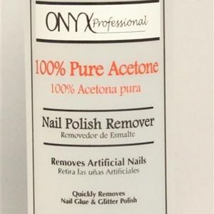 Onyx Professional 100% Acetone ~Artificial Nail & Nail Polish Remover