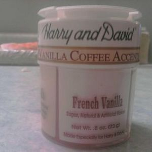 Harry & David 4 Vanilla Coffee Accents