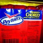 Peyton's Beef Chorizo