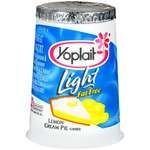 Yoplait Light Lemon Cream Pie Yogurt