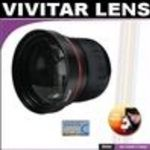 Vivitar Series 1 High Definition Wide Angle Fisheye 0.21x Lens Case for The Kodak Easyshare Z612, Z712, Z...