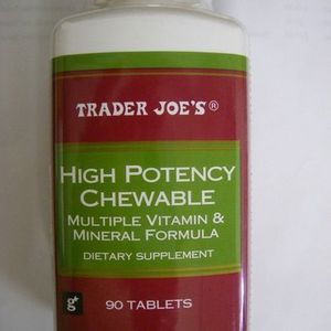 Trader Joe's / Trader Darwin's High Potency Chewable Multiple Vitamin and Mineral Formula