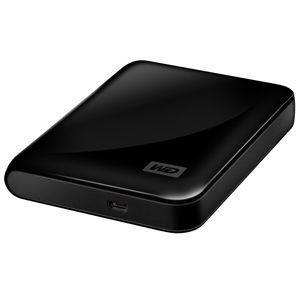 Western Digital SE 1 TB USB 2.0 Portable External Hard Drive WDBABV0010BBK-NESN
