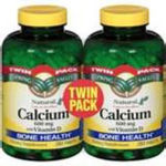 Spring Valley Natural Calcium with Vitamin D - Twin Pack