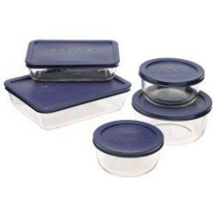 Pyrex 10-Piece Glass Storage Set   6021224