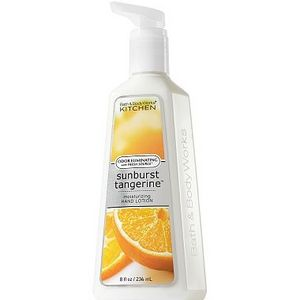 Bath & Body Works Sunburst Tangerine Anti Bacterial Moisturizing Hand Lotion with Fresh Source Technology