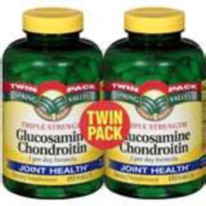 Spring Valley Glucosamine Chondroitin - Twin Pack
