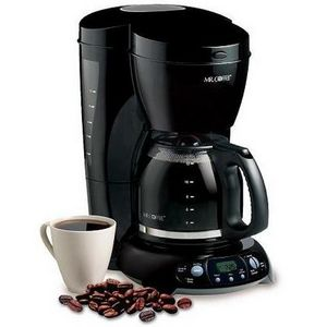 Mr. Coffee 12-Cup Grind-and-Brew Coffee Maker