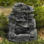Garden Oasis Three Tier Slate Waterfall