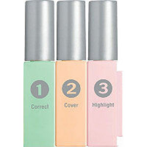 Physicians Formula Mineral Wear Talc-Free Mineral Correcting Concealer Trio in Green/Light/Pink